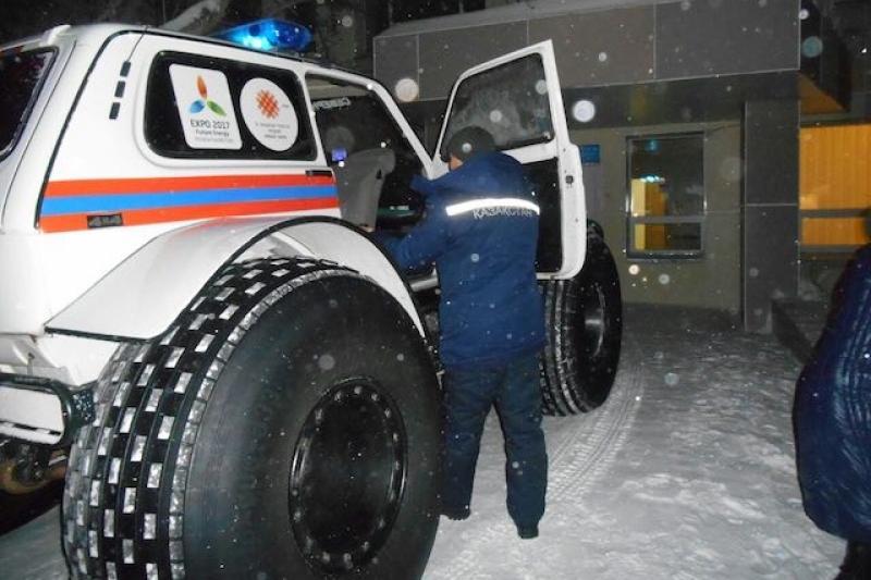 Более 90 граждан Узбекистана и Таджикистана спасли в морозы акмолинские полицейские