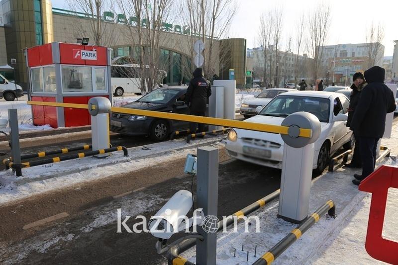 Парковку на вокзале и в аэропорту Астаны сделали бесплатной на период морозов