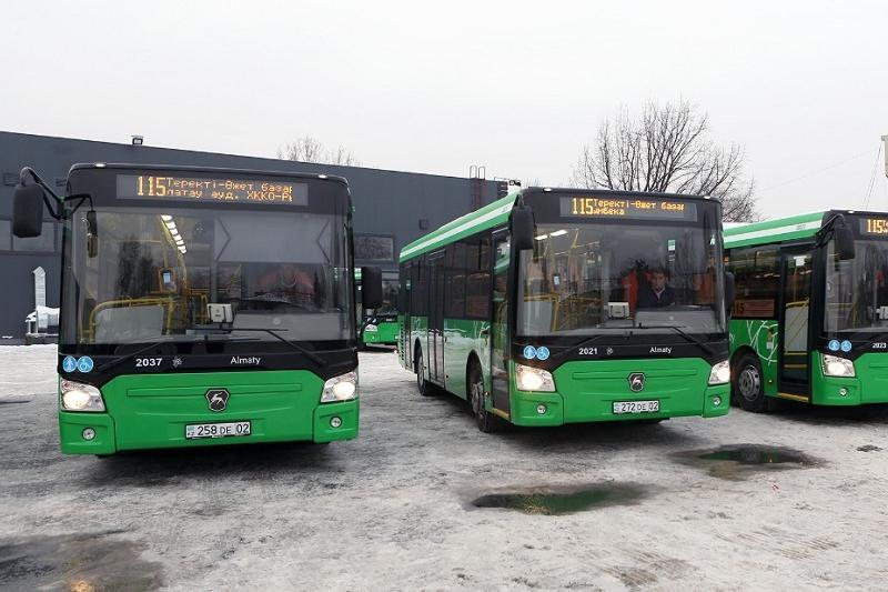 Алматының Алатау, Медеу аудандарында екі жаңа автобус бағыты пайда болды