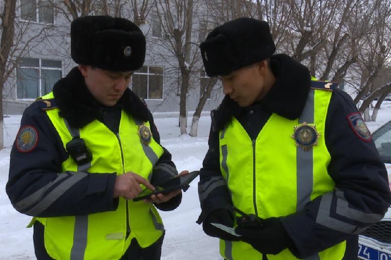 В онлайн-режиме теперь составляют протоколы полицейские Кокшетау