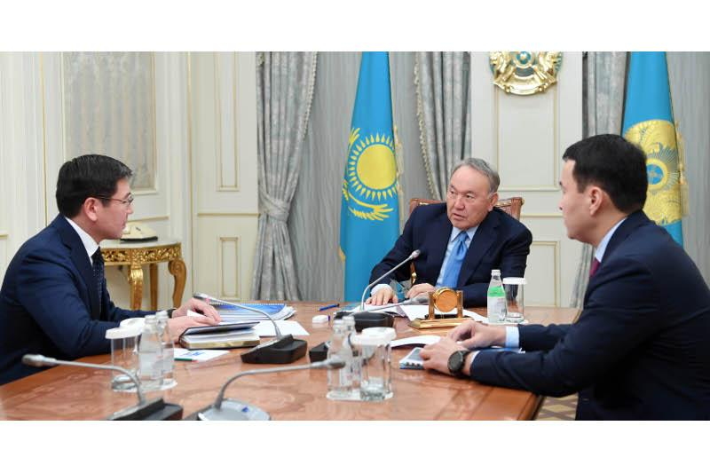 Head of State receives Deputy PM Zhumagaliyev