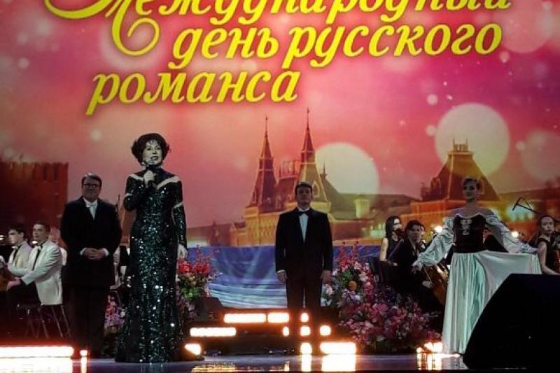 Участники Казахской романсиады выступили в Москве