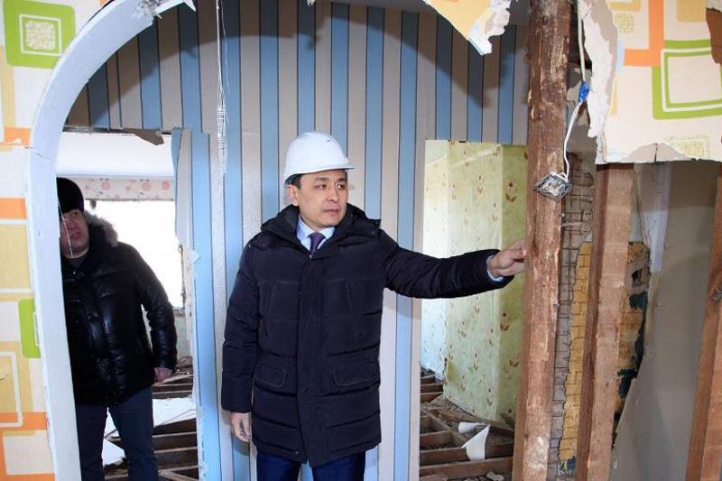 Аварийные и ветхие дома снесут в Уральске