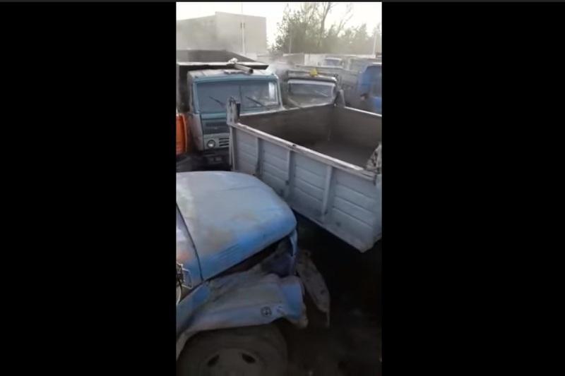 Видео «битвы грузовиков за уголь» снято в прошлом году - акимат ЮКО