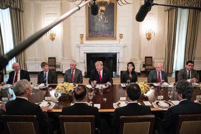 UNSC delegation visits Washington, DC