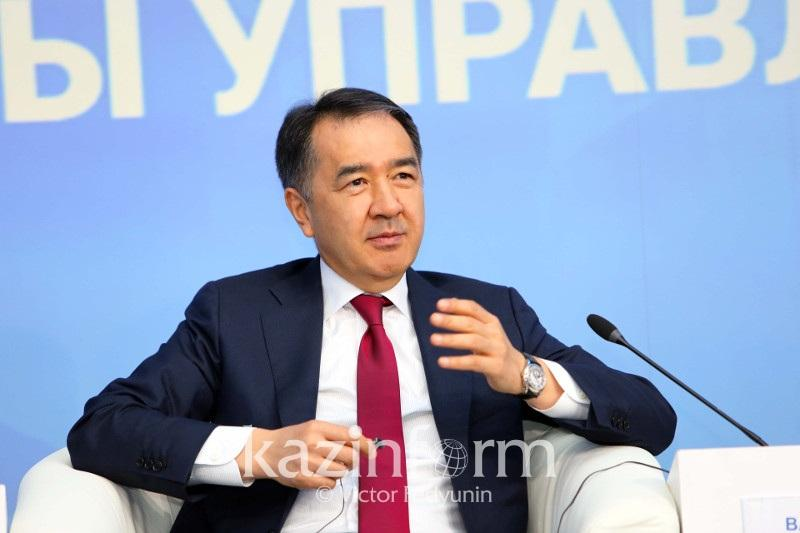 Bakytzhan Sagintayev meets with heads of leading IT companies