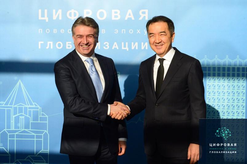 Бакытжан Сагинтаев встретился с Премьер-Министром Армении