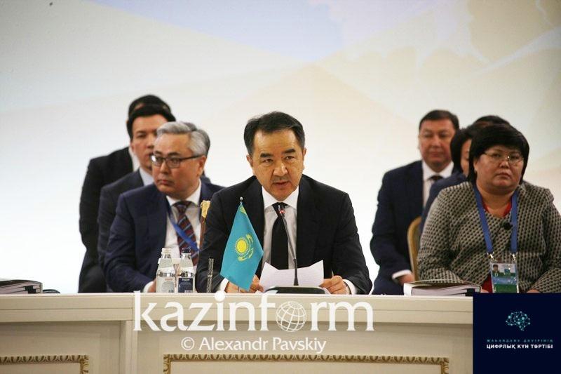 Ótken jyly Qazaqstan ekonomıkasy aıtarlyqtaı ósti - Baqytjan Saǵyntaev