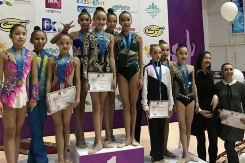 Чемпионат Казахстана по художественной гимнастике завершился в Шымкенте