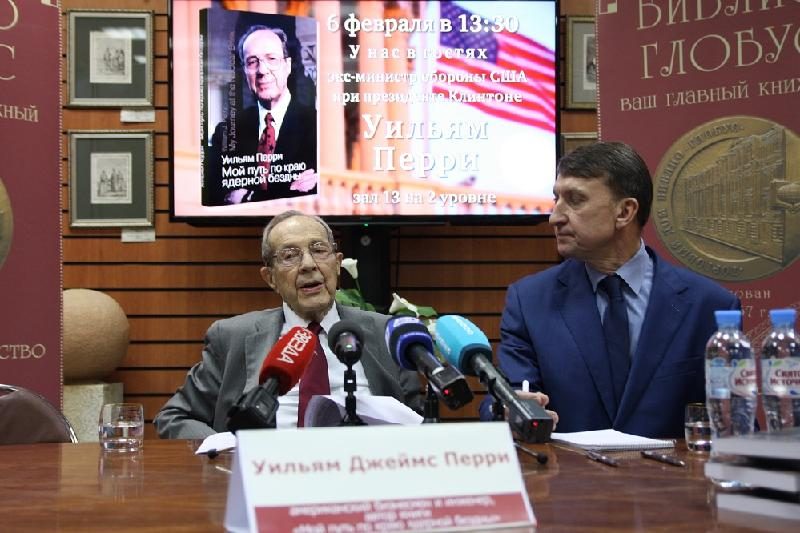 Nursultan Nazarbayev is nuclear disarmament leader, says William Perry