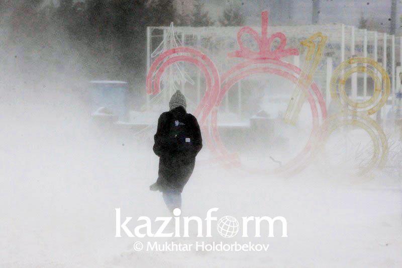 Kazhydromet issues storm warning for Zhambyl region
