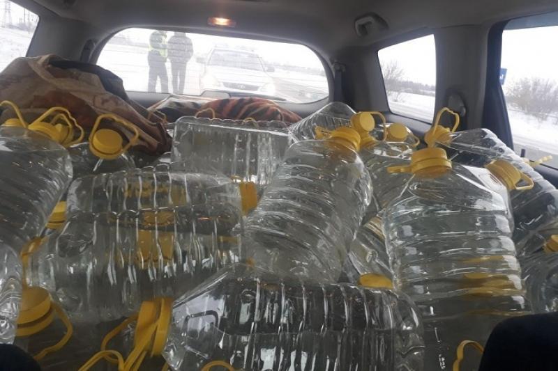 Около 600 литров контрафактного алкоголя изъяла полиция у павлодарца