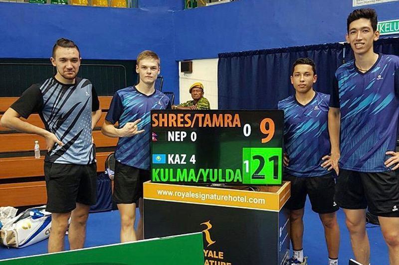 Сборная Казахстана по бадминтону квалифицировалась на Азиатские игры