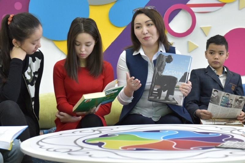 Астаналық оқушылар қаланың бірегей нысандары туралы кітап шығарды