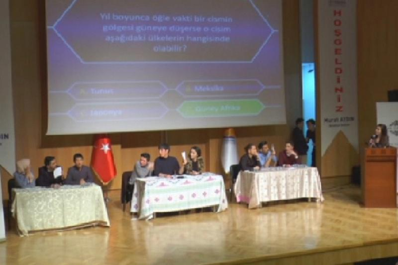 Kazakh youth intellectual competition held in Istanbul
