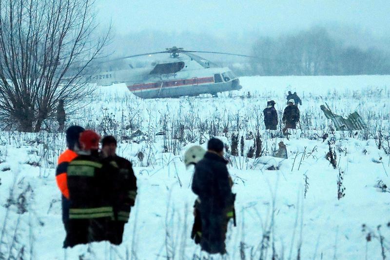 Уроженка Казахстана погибла при крушении самолета в Подмосковье - МИД РК