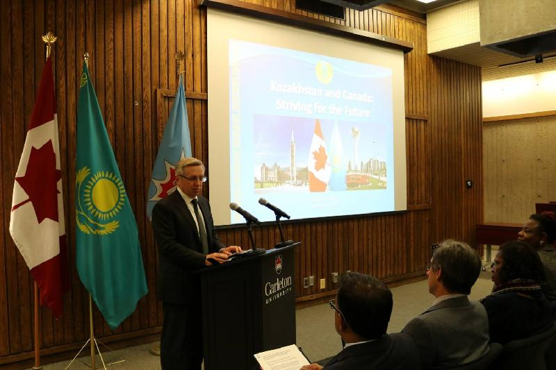 Roundtable «Kazakhstan-Canada: Striving for the Future» held at Carleton University