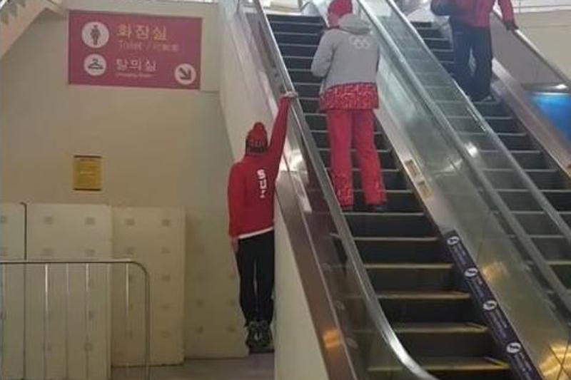 Пхенчхандағы олимпиадашының әрекеті желіде қызу талқыланды