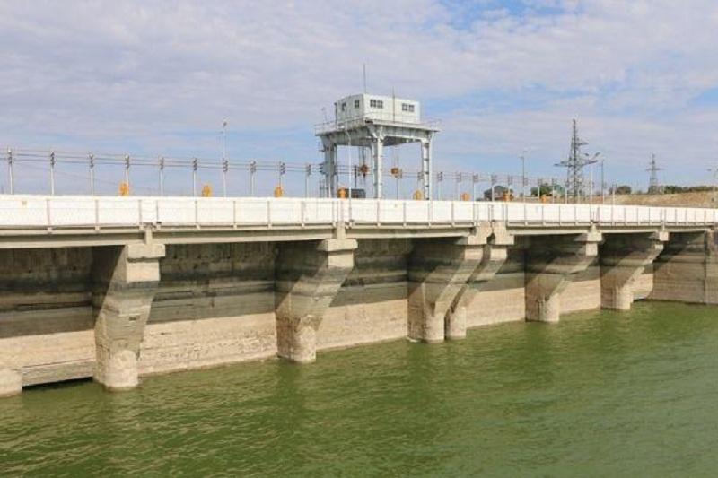Завершилась реконструкция Арнасайской плотины в Южном Казахстане