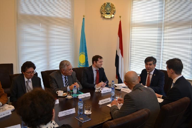 Итоги председательства Казахстана в СБ ООН обсудили в Гааге