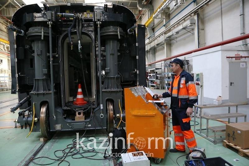 Более 2 тысяч вагонов выпустит завод в Павлодарской области в 2018 году