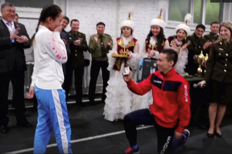 Астаналық спортшы қалыңдығына жарыс үстінде сөз салды