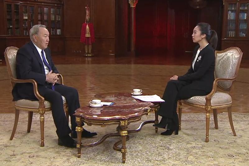 Нурсултан Назарбаев назвал великой инициативу создания экономического пояса Шелкового пути