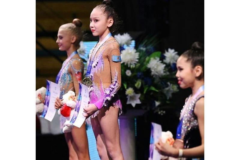 Гимнастки из ЮКО завоевали 16 медалей на международном турнире