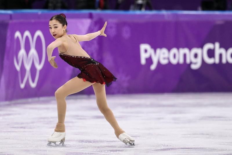 Олимпиада-2018: Элизабет Тұрсынбаева қысқа бағдарламада өнер көрсетті