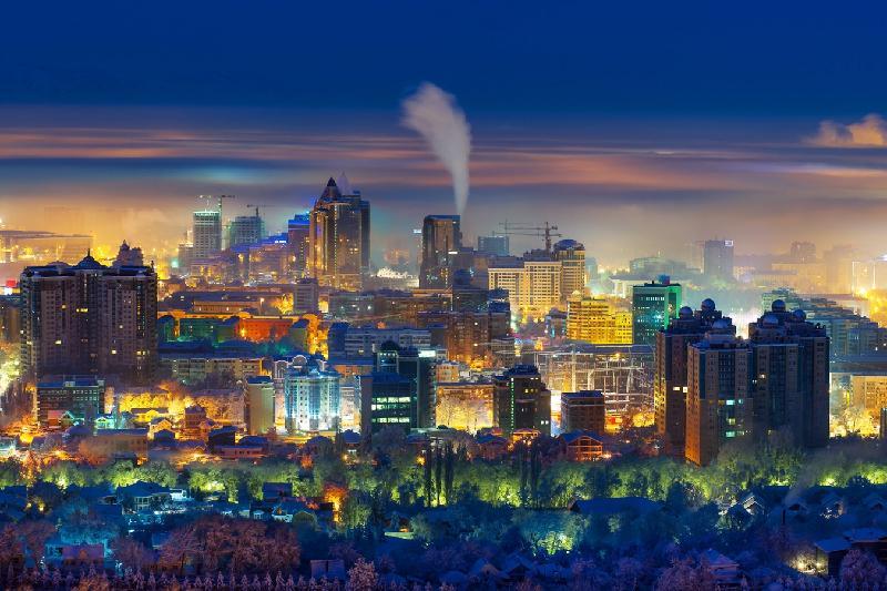 阿拉木图市长介绍至2020年城市发展规划图