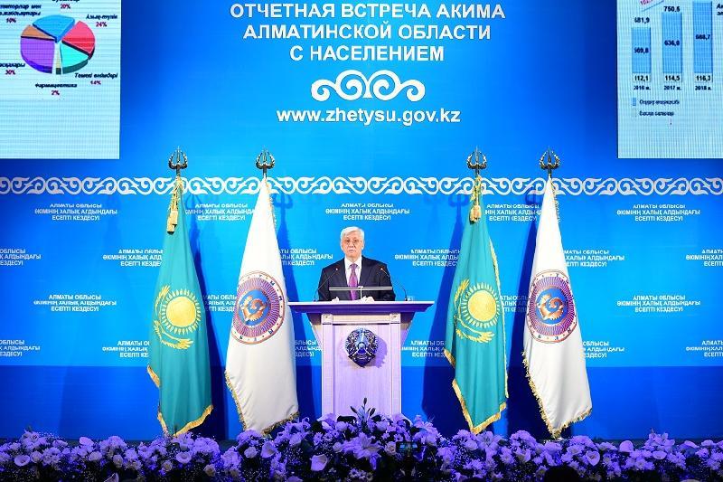 Два новых района появятся в Алматинской области