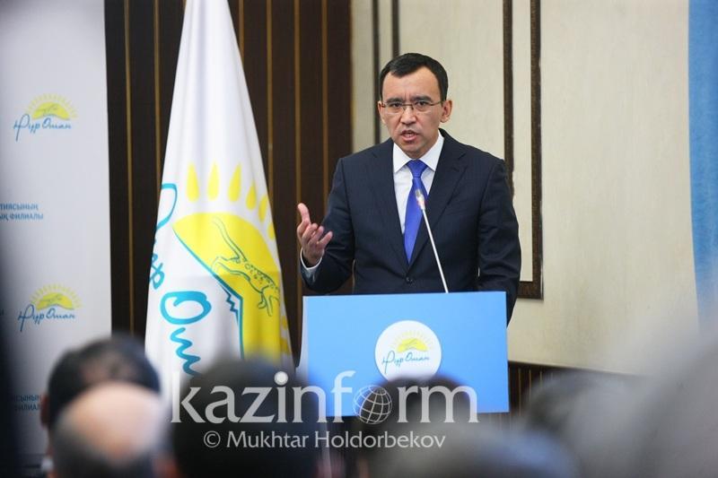 Маулен Ашимбаев - нуротановцам о мероприятиях: Не нужно гнаться за количеством