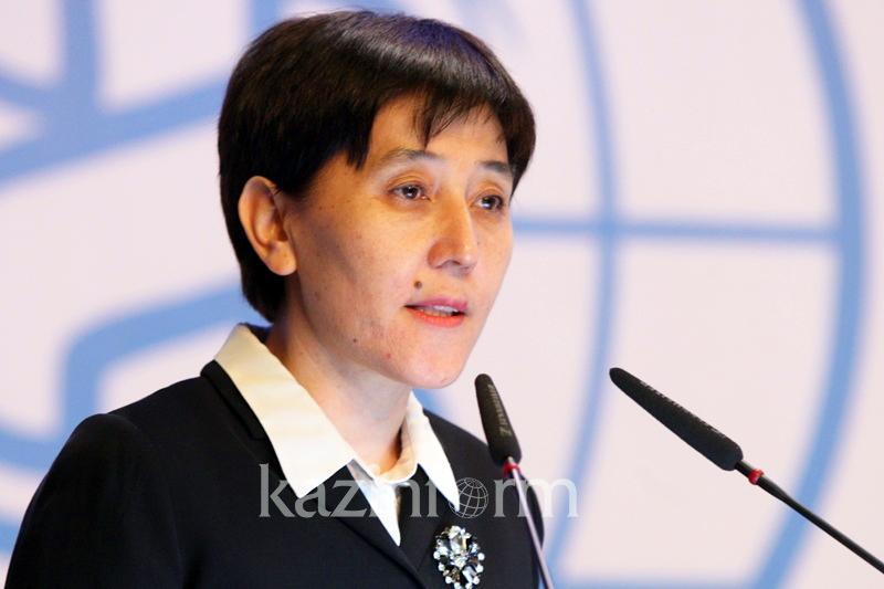 Тамара Дуйсенова назначена секретарем партии «Нұр Отан»