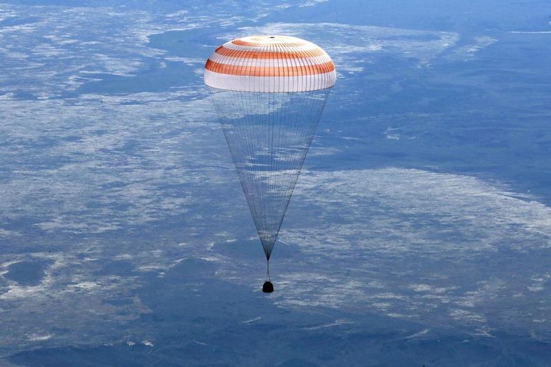 Спускаемая капсула «Союза» с экипажем МКС приземлится в Казахстане 28 февраля