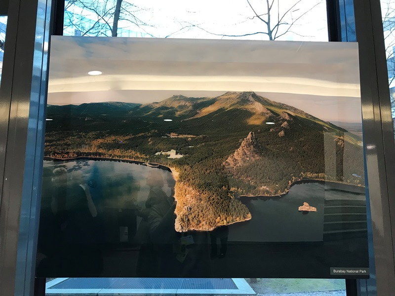 Photographs of Kazakhstan's landscapes presented in EEAS headquarters