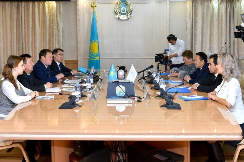 Строящийся Дворец школьников в Петропавловске станет центром IT-технологий - аким