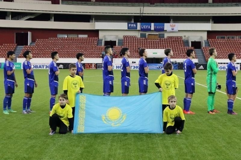 Қазақстанның футболдан жасөспірімдер құрамасы даниялықтарды жеңді
