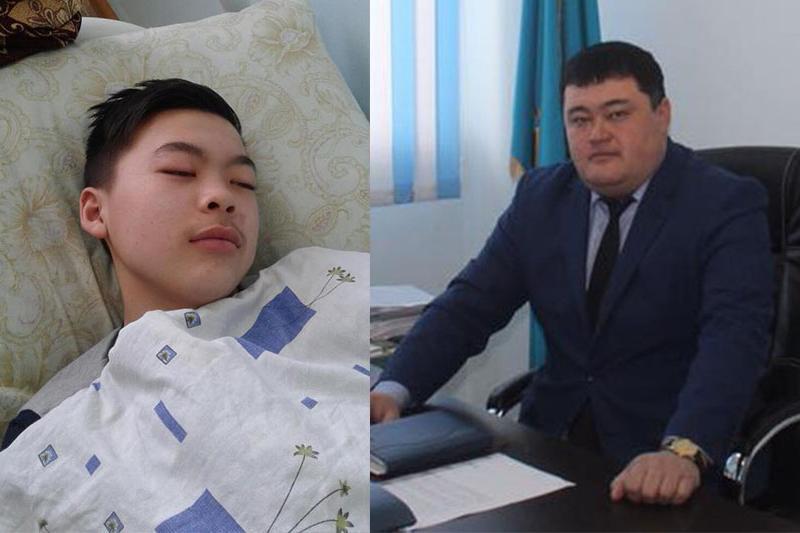 Подозреваемый в избиении школьника аким уволен