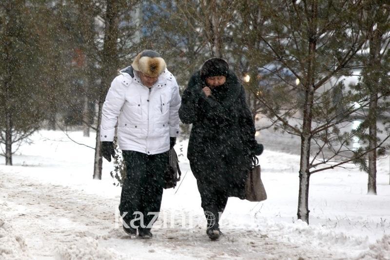 Astana men Aqmola oblysynda aýa raıyna baılanysty eskertý jarııalandy