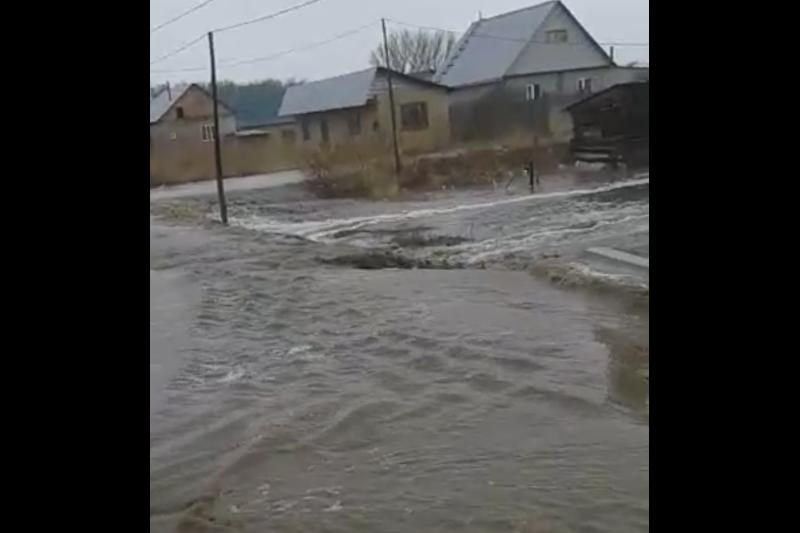 Режим ЧС объявлен в Жамбылском районе Алматинской области