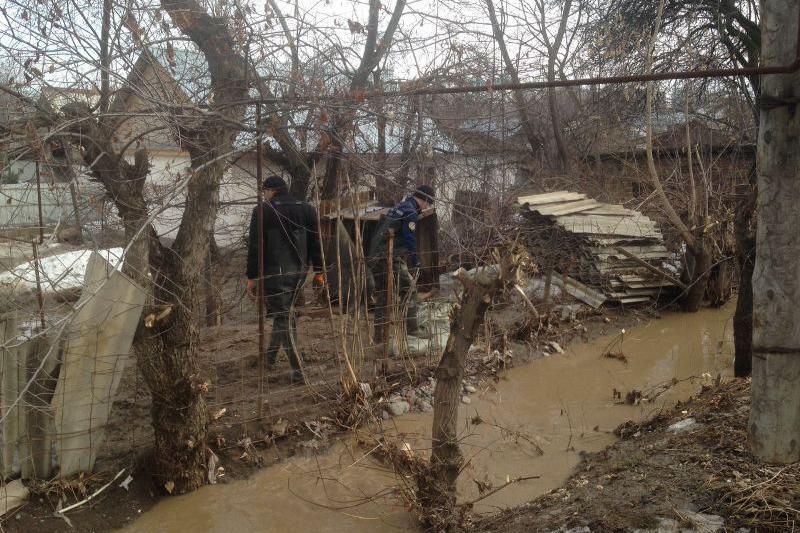 Из-за потепления возможны новые подтопления в Алматинской области