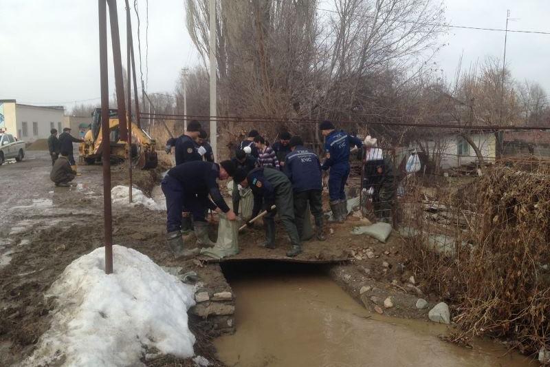 Толассыз жауын салдарынан Алматының 19 көшесін су басты