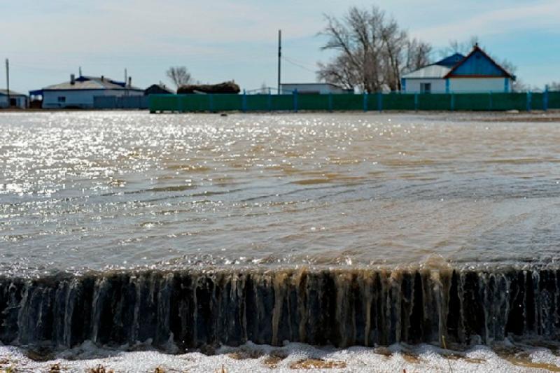 Подверженные подтоплению населённые пункты определили в Павлодарской области