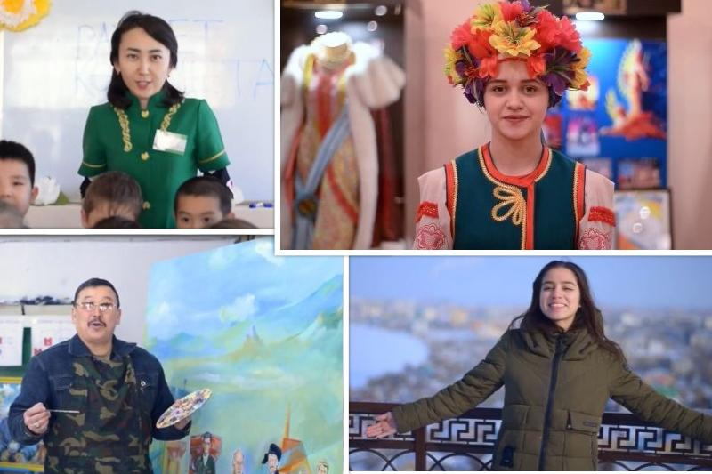 «Спасибо, Казахстан!»: кокшетауцы выражают свои чувства