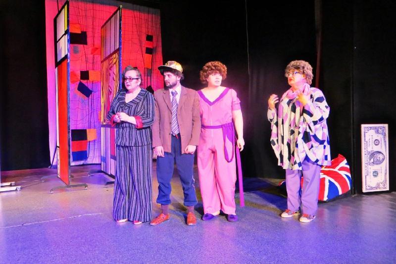 Эксцентричную комедию представил драмтеатр в Кокшетау