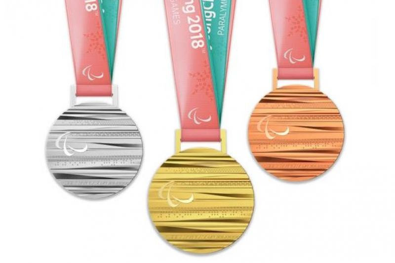 PyeongChang Paralympic Medals similar to Olympic medals, but differences hidden