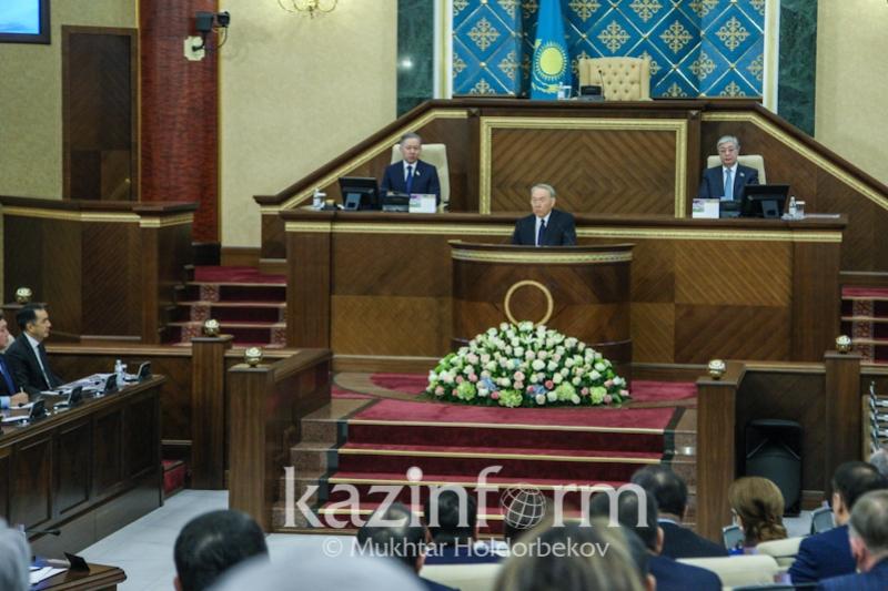 Нұрсұлтан Назарбаевтың «Президенттің бес әлеуметтік бастамасы» атты халыққа үндеуі