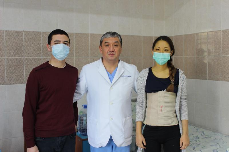 Алматы дәрігерлері ауыр дертке шалдыққан 20 жастағы бойжеткенді аман алып қалды