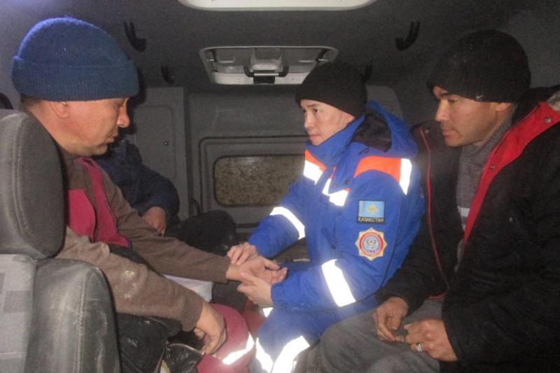 Мал іздеп жүріп адасқан 5 адам құтқарылды - Қызылорда облысы