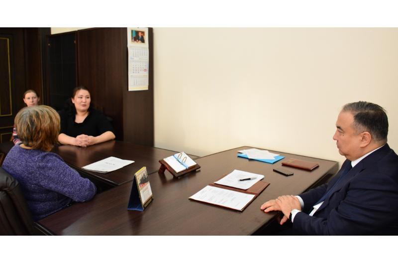 Малик Мурзалин обещает помочь матерям детей-инвалидов